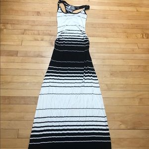 Young Fabulous & Broke Stripe Racerback Maxi Dress